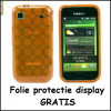 Husa Gel TPU Samsung Galaxy S Plus  i9001 i9000  + Folie display GRATIS