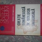 Creatie romaneasca in BIOLOGIA UNIVERSALA -R. Iftim. - Carte Biologie