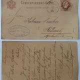 Carti Postale Romania pana la 1904 - Circulatie austriaca din Bucovina, 1882