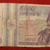BANCNOTA 5000 LEI AVRAM IANCU MAI 1993