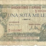 Bancnota 100.000 lei - 21 octombrie 1946