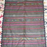 tesatura textila - Catrinta costum popular / costum national - Transilvania / Ardeal - tesuta si brodata manual