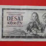 Bancnota Straine, Europa - 10 coroane Cehoslovacia 1960