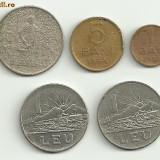 Monede Romania - Moneda 5 bani 1954 1 leu 1966