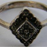 Inel argint - Inel din argint cu markasite - de colectie