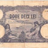 * Bancnota 20 lei 1927