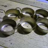 SUPORTI CESTI ART DECO - Metal/Fonta