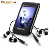 "MP4/MP3/Wma/FM Player, EnergySistem Ingennio 5000 hdp M-EX 2gb, Ecran 3.5"", Front Speaker, SD Slot - Mp4 playere"