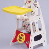 Scaun de masa bebelusi - Scaun 3 in 1 - Litaf