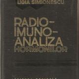 (C947) RADIO IMUNO ANALIZA HORMONILOR DE LIGIA SIMIONESCU, EDITURA MEDICALA, BUCURESTI, 1982