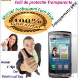 Folie de protectie Samsung Wave 2 Transparenta MONTAJ GRATUIT