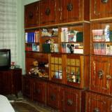OCAZIE: Biblioteca furnir mahon - STIL - UNICAT ! - Mobilier