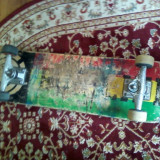 Skateboard - Skate Element Rasta Remix,, FOR LIFE,,