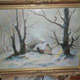 TABLOU-pictura IARNA GREA