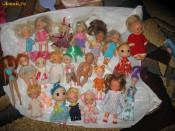 papusi simba mici papusele rusesti papusa de portelan  si papusi bebe mattell  de colectie foto
