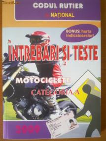 legislatie categoria A motociclete+chestionare NOUA 2011 foto