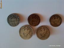 Lot nasturi 1/4 florin 1859 de colectie + bonus foto