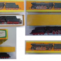 CUTIE Locomotiva CU ABURI TT 23 1111 - Macheta Feroviara