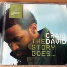 Craig David - The Story Goes... - Muzica R&B sony music