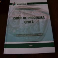 CODUL DE PROCEDURA CIVILA - Carte Drept civil