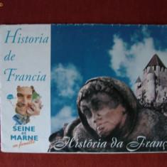 HARTA RUTIERA COLOR A REGIUNII SEINE ET MARNE / FRANTA