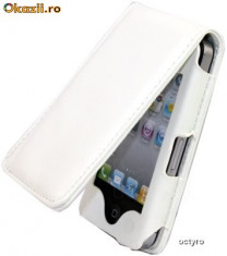 TOC iPHONE 4S - iPHONE 4 - WHITE EDITION - FLIP - TOC iPHONE 4S - HUSA iPHONE 4 - WHITE COLLECTION