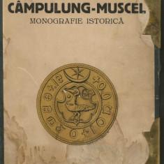 Ioan Rautescu - Campulung-Muscel - monografie istorica - 1943 - Carte Monografie