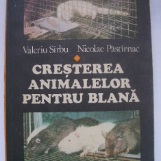 Valeriu Sirbu, Nicolae Pastirnac - Cresterea animalelor pentru blana (1980)