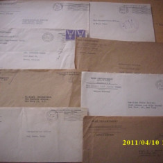 PLICURI SUA, AMERICA, WW2, RAZBOI, 1941-1945-SUPERBE - Plic Papetarie