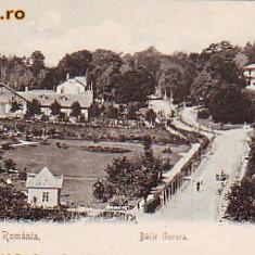 Romania Salutari, Baile Govora, carte postala UPU necirculata apr.1902: Vile - Carte Postala Oltenia pana la 1904, Fotografie