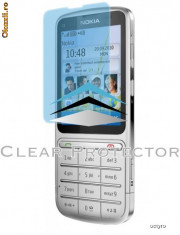 Folie de protectie - Folie ecran Nokia C3-01 - NOKIA C 3-01 - SUPER PVC 100% TRANSPARENT