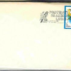 Stampila speciala Protejati pasarile lumii, Timisoara 05.06.92, Pericrocotus flammeus