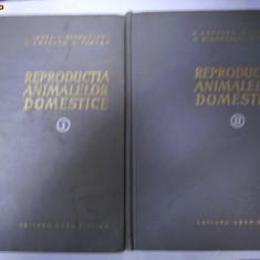 REPRODUCTIA ANIMALELOR DOMESTICE -2 volume- editia a 2a - Carte Medicina veterinara