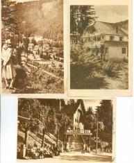 Carti Postale Romania dupa 1918, Circulata, Fotografie - TUSNAD-RPR-CIRCULATE-LOT-3-CARTE POSTALA VEDERI