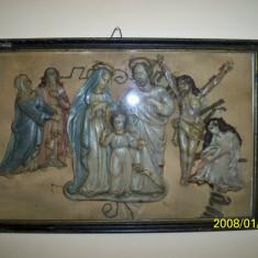 Icoana catolica - Icoana brodate
