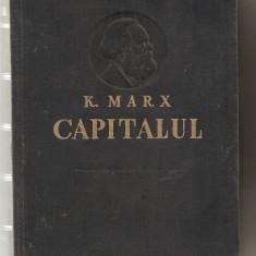 Carte hobby - (C610) CAPITALUL, KARL MARX, VOLUMUL I, CRITICA ECONOMIEI POLITICE, EDITIA A III-A, 1957