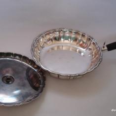 Splendida LEGUMIERA C.G.H. / argintata, Vas