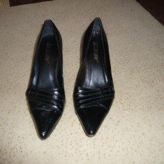 Pantofi dama - Pantofi eleganti negri foarte comozi, marimea 37, LICHIDARE DE STOC!
