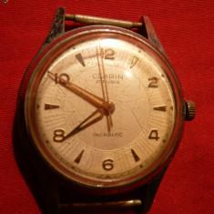 Ceas de mana - Ceas Mecanic marca Clarin, 21 rubine, Elvetian cca1960