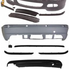 KIT EXTERIOR M tehnic / set bara fata + spate BMW Seria 3 E46 (1998 - 2005 ) - Body Kit