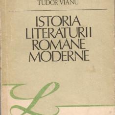 Studiu literar - Cioculescu/ Streinu/ Vianu - Istoria Literaturii Romane Moderne