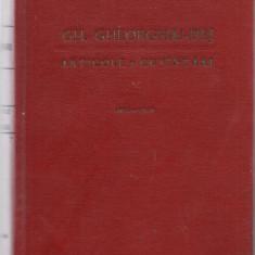 9A(438) Gh Gheorghiu Dej-ARTICOLE SI CUVINTARI - Carte de aventura
