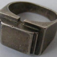 Inel argint - Inel vechi din argint (47) - de colectie