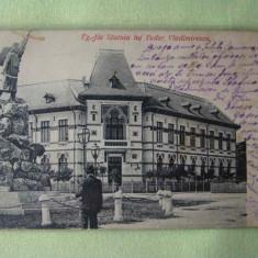 TARGU-JIU - Statuia lui Tudor Vladimirescu - 1906