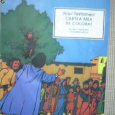 Cartea mea de colorat noul testament religie pentru copii 1994 24 pagini - Carte de colorat
