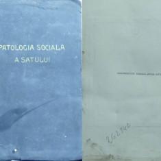 Carte Editie princeps - Monografia comunei Fibis, jud. Timis, 1934, continand si 90 foto originale, manuscris nepublicat