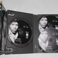 Jimi Hendrix - The Uncut Story ( 3 _ DVD set) - Film documentare