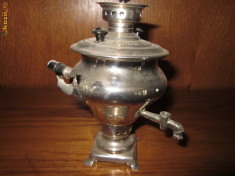 Metal/Fonta - Samovar miniatural vechi rusesc