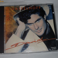 Vand cd original DAVID HASSELHOFF-David - Muzica Dance ariola