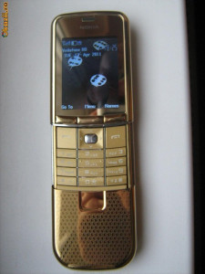 Nokia 8900e GOLD foto